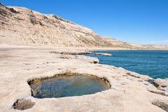 Klip, Patagonië, Argentinië. royalty-vrije stock fotografie