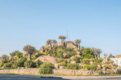 Klipkoppie in Springbok Royalty Free Stock Images