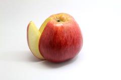 Klipp äpplet Royaltyfri Bild