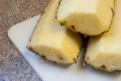 klipp ananas Royaltyfri Foto