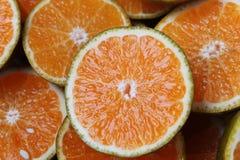 klipp apelsiner ted Fotografering för Bildbyråer