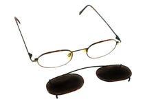 Klipp auf Sonnenbrillen 1 Stockfotos