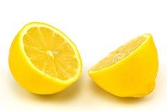 klipp citronen Royaltyfria Foton