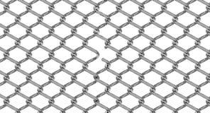Klipp den chain sammanlänkningen stock illustrationer