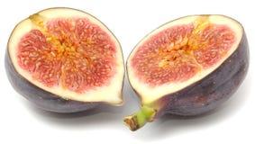 klipp den nya hälften för figen Royaltyfria Bilder