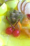 klipp frukt Arkivfoton
