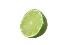 Klipp isolerade limefruktfrukter Royaltyfri Bild