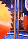 Klipp motståndskraftiga stålkablar Royaltyfri Fotografi