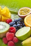 klipp ny frukt royaltyfri bild