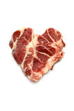 klipp ny ribeyesteak Royaltyfria Foton