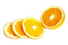 klipp orangen Arkivfoton
