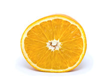 klipp orangen arkivfoto