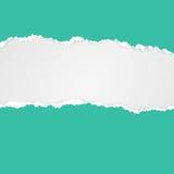 klipp papper paper riven avståndstext Arkivbild
