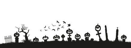 klipp pumpa för personen för halloween ferie ut Svarta konturer av pumpor royaltyfri illustrationer