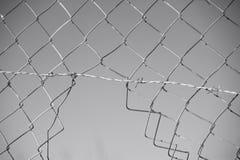 klipp staket Arkivbild