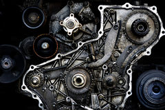 Klipp thruemotorn Arkivfoto
