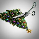 Klipp tillbaka på jul Fotografering för Bildbyråer