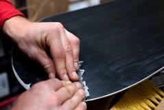 klipp waxen Royaltyfri Fotografi