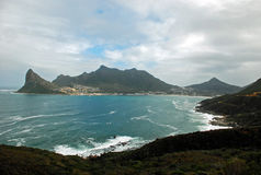 Klippa över Cape Town Royaltyfria Foton