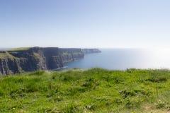 Klippa av den Moher sikten - Irland Royaltyfri Fotografi