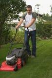 klippa gräs Royaltyfria Bilder