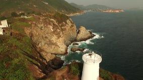 Klippa nära havet lager videofilmer