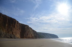 Klippa vid havet Royaltyfri Fotografi