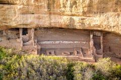 Klippaboningar i Mesa Verde National Parks, Co, USA Royaltyfri Foto