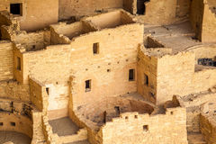Klippaboningar i Mesa Verde National Parks, Co, USA Arkivbild