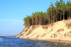 klippaflod Fotografering för Bildbyråer
