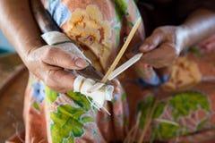Klippande bambu Royaltyfri Fotografi