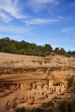 Klippaslott, nationalpark för Mesa Verde Royaltyfria Foton