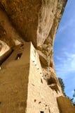 Klippaslott, nationalpark för Mesa Verde Arkivfoto