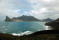 Klippe über Cape Town Lizenzfreie Stockfotos