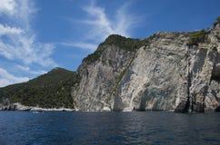 Klippe über Meer Lizenzfreies Stockbild
