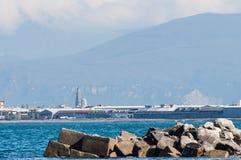 Klippe auf dem Golf von Neapel Lizenzfreie Stockbilder