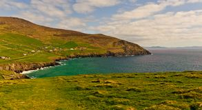 Klippe auf Dingle-Halbinsel, Irland Lizenzfreie Stockfotos