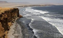 Klippe in Peru Lizenzfreies Stockbild