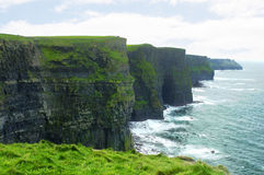 Klippe von Moher, Irland Lizenzfreies Stockbild