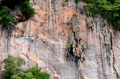 Klippe von Phiphiinsel Lizenzfreies Stockfoto