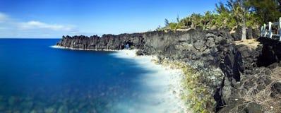 Klippen auf Reunion Island lizenzfreies stockfoto