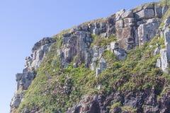 Klippen bij Torres-strand royalty-vrije stock fotografie