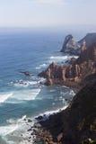 Klippen in Cabo DA Roca stock afbeeldingen