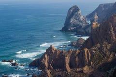 Klippen in Cabo DA Roca stock foto