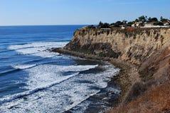 Klippen der Lunada Bucht Lizenzfreies Stockfoto