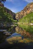 Klippen dichtbij Dalingen Jim-Jim Royalty-vrije Stock Fotografie