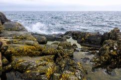 Klippen en rotsen in natuurlijke vorming royalty-vrije stock foto