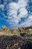 Klippen en wolken Royalty-vrije Stock Afbeeldingen