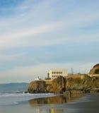 Klippen-Haus, San Francisco Stockbild