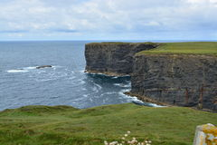 Klippen in Ierland stock fotografie